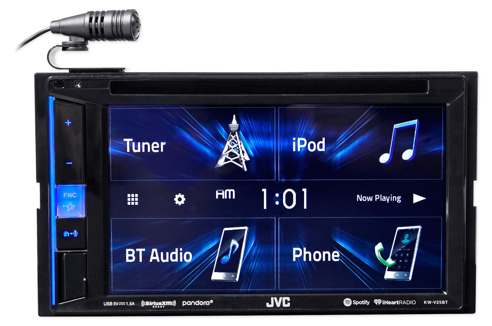 JVC DVD/CD Player w/Bluetooth/USB/iPhone/Android For 2010-14 Volkswagen  Golf VW