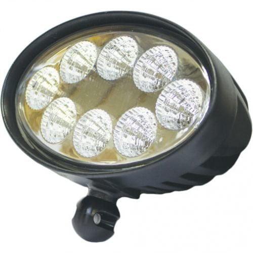LED Work Light - 24W, Oval, Flood Beam, John Deere, RE154898, RE154900