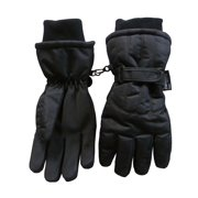 NICE CAPS Men's Adults Thinsulate Insulated and Waterproof Cold Weather Winter Snow Ski Snowboarder Glove with Ridges