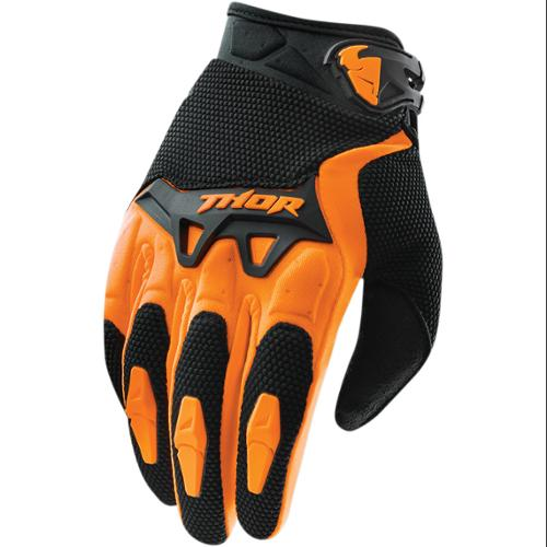 Thor Spectrum Mens MX/Offroad Gloves Orange