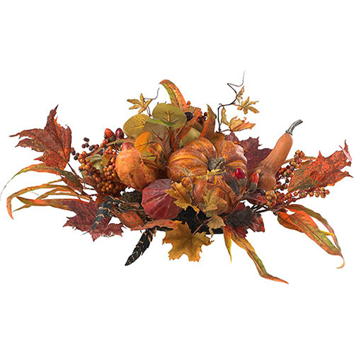 Nearly Natural Harvest Centerpiece