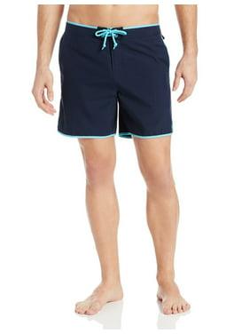 Original Penguin NEW Total Eclipse Blue Mens Size 38 Trunks Swimwear