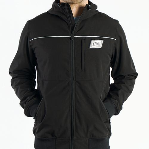 Thor Track Walk 2014 Softshell Jacket Black MD
