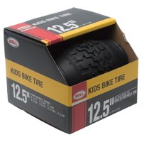 "Bell Standard Kids Bike Tire, 12.5"" x 1.75-2.25"", Black"