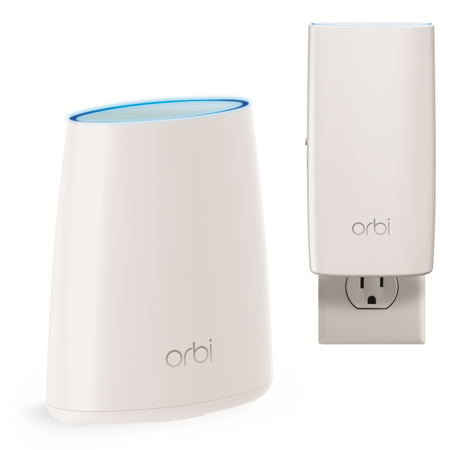 NETGEAR Orbi™ Home WiFi System. Up to 3500sqft AC2200 Tri-Band WiFi (RBK30)
