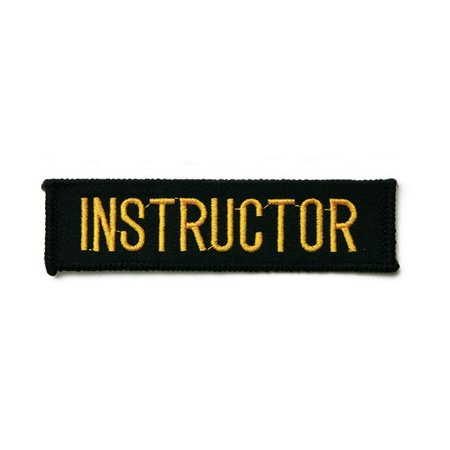 Instructor Martial Arts Uniform Patch, 4