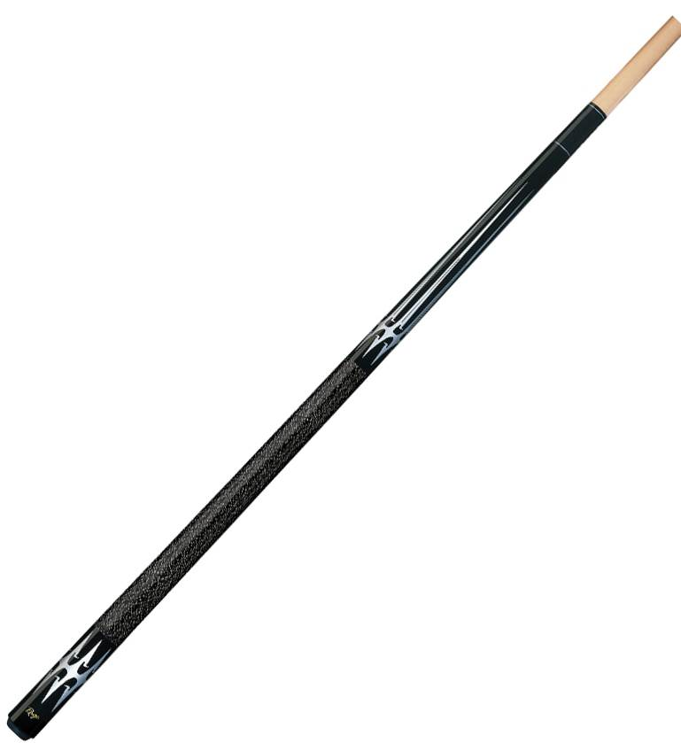 100% Maple Pool Cue w Silver Barbed Blade Design by Cue & Case