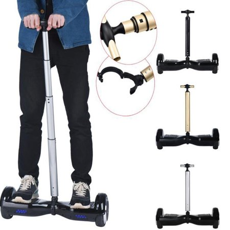 6.5 inch /50cm to 106cm Adjustable Handlebars Balance Bar Balancing Hand Lever Rob for Electric Shilly-car Scooter (Aluminum alloy) Silver/Black ()