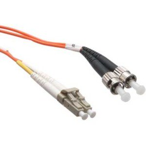 50 Micron Simplex Fiber (Axiom - Network cable - LC multi-mode (M) to ST multi-mode (M) - 1 m - fiber optic - 50 / 125 micron - OM2 - orange - TAA Compliant )