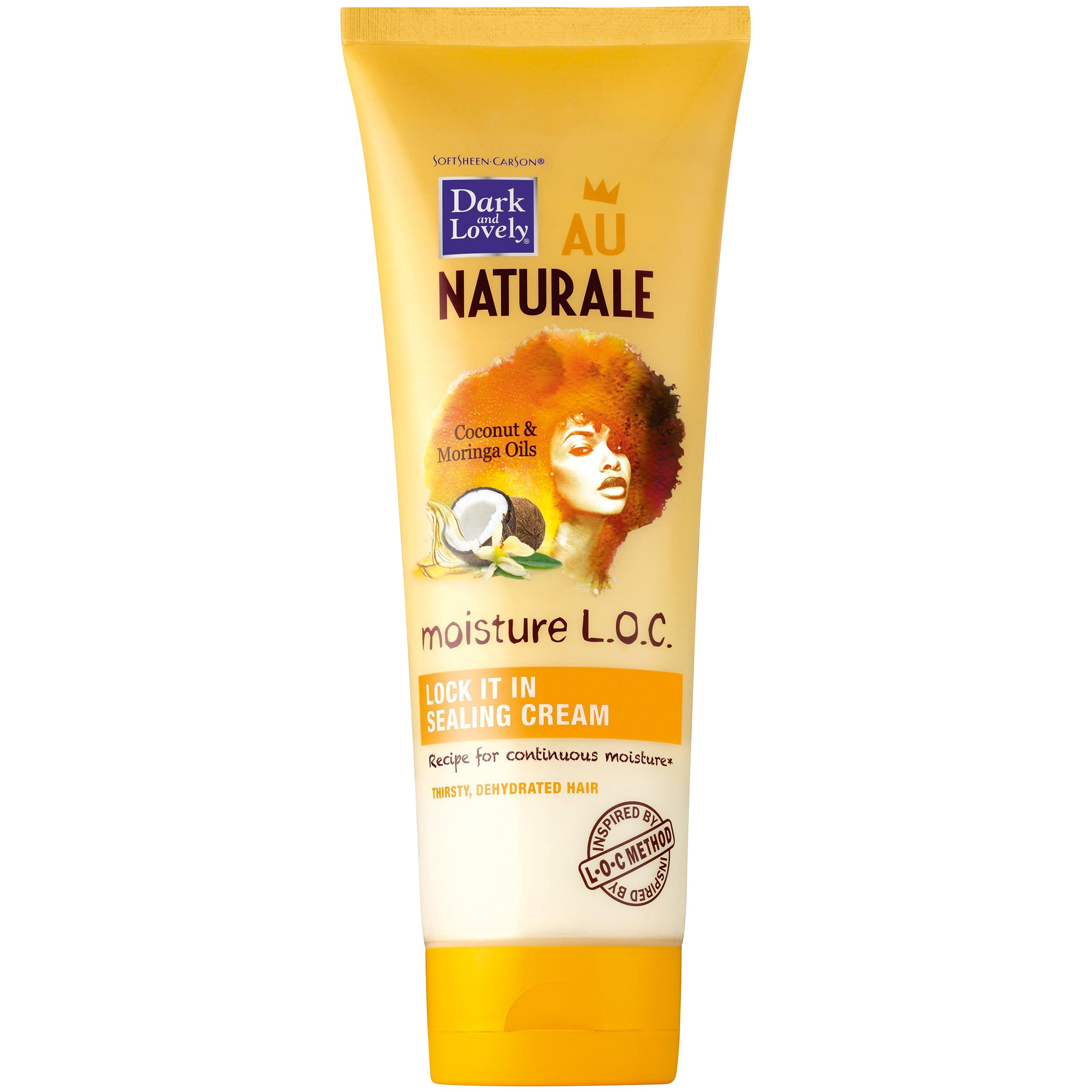 SoftSheen-Carson Dark and Lovely Au Naturale Moisture L.O.C. Lock It In Sealing Cream