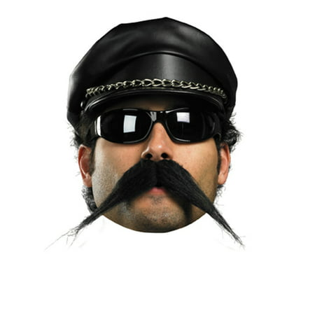 Biker Style Moustache Halloween Accessory - Halloween Style