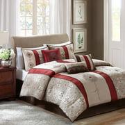 Home Essence Perry 7 Piece Jacquard Comforter Bedding Set