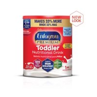 Enfagrow Premium Toddler Nutritional Drink Powder, Natural Milk Flavor, 1 Can, 32 oz