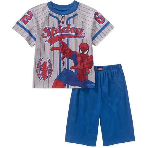 Spiderman Ap Big Boys Licensed Sleepwear