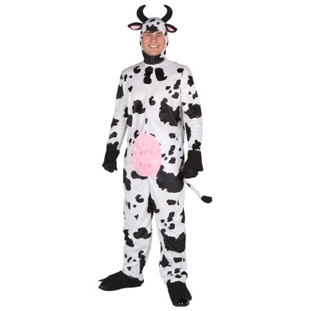 Plus Size Happy Cow Costume (Clarabelle Cow Costume)