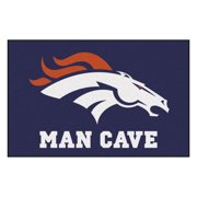 """NFL - Denver Broncos Man Cave Starter Rug 19""""x30"""""""