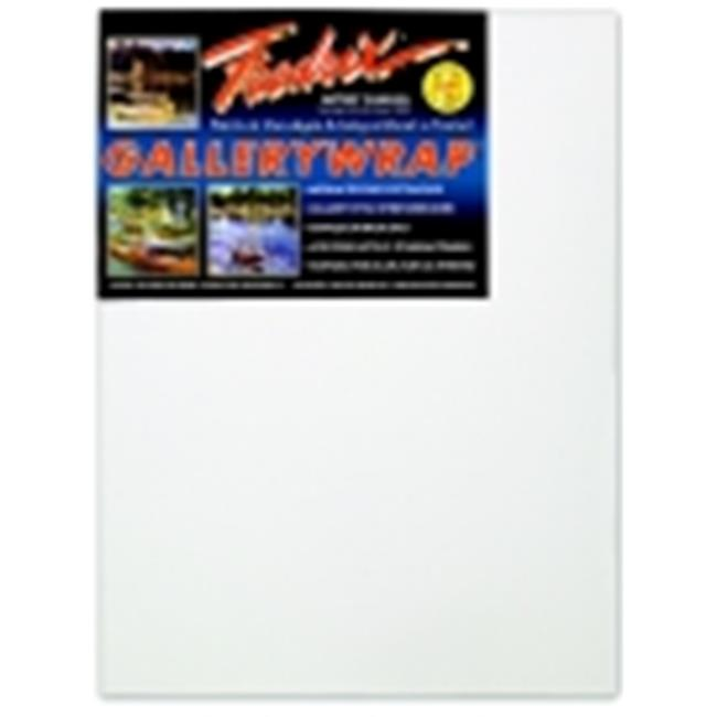 Fredrix Gallerywrap Duck Acid-Free Double-Primed Stretched Canvas, 16 x 20 In.