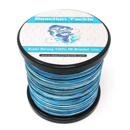 Reaction Tackle Braided Fishing Line (Various Colors) - Lobjet Platinum Braid