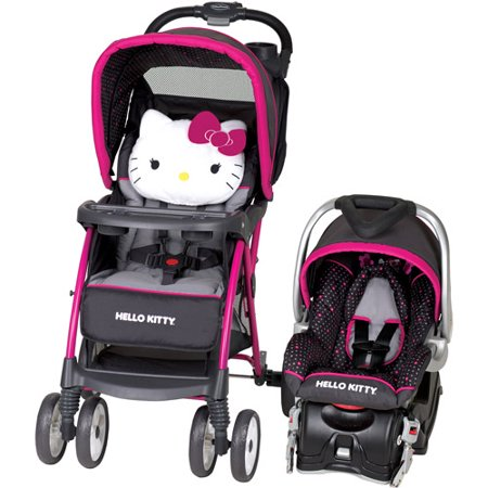 baby trend hello kitty venture travel system. Black Bedroom Furniture Sets. Home Design Ideas