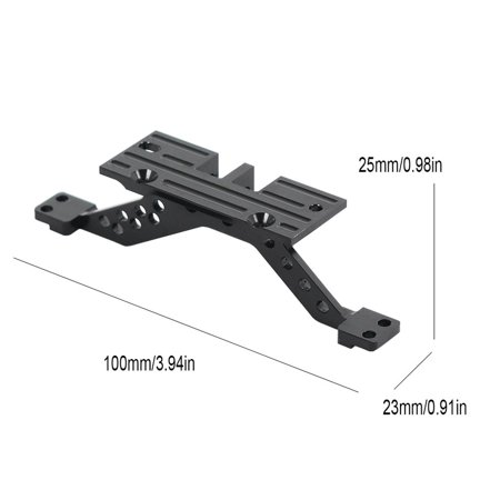 Front/Rear Axle Reinforcement Alloy 4 Link Rod Axle Mount Set For Axial Scx10 - image 7 of 8