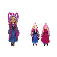 "Disney Frozen Anna Plush Doll Backpack 17"""