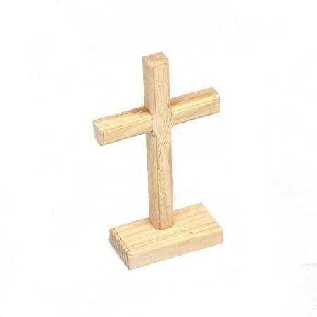 Unfinished Wooden Cross - Wooden Cross