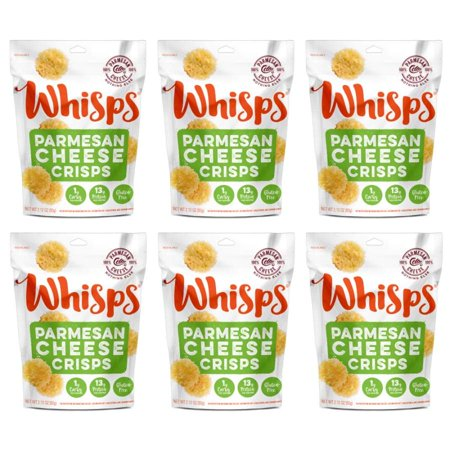 Cello Whisps Cheese Crisps - Parmesan (2.12oz) - Walmart.com