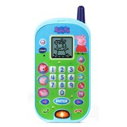 VTech Peppa Pig Let's Chat Learning Phone, Pretend Play Toy For Kids