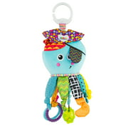 Lamaze Clip & Go Captain Calamari Infant Toy, Baby Car Seat Toy, Plush Stroller Toy
