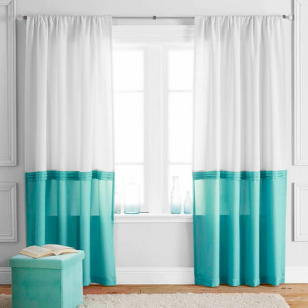 Better Homes And Gardens Color Block Curtain Panel