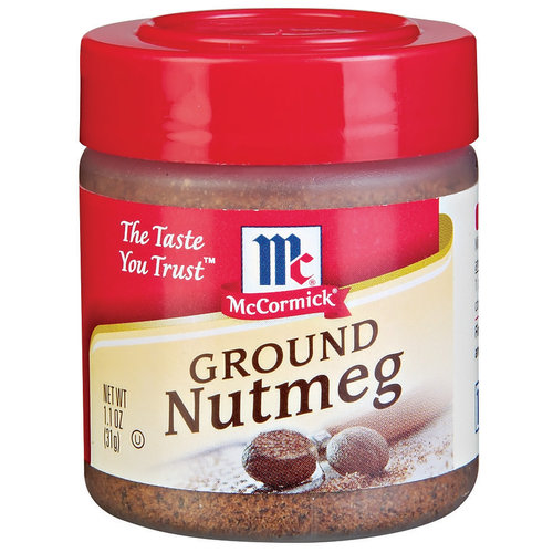 McCormick Specialty Herbs And Spices Ground Nutmeg, 1.1 oz