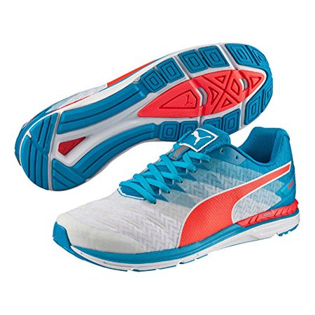b4be7937ec2 PUMA - Men s Puma Speed 300 Ignite 18811401 White Atomic Blue Red Blast  (9.5