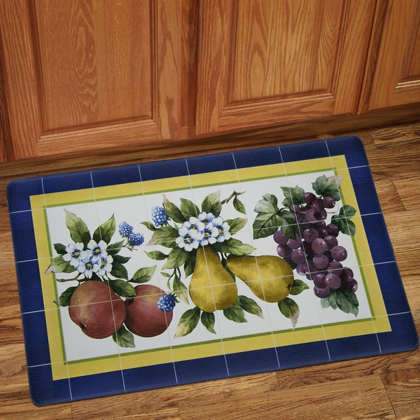 Fruity Tiles Memory Foam Anti Fatigue Kitchen Floor Mat 18 ...