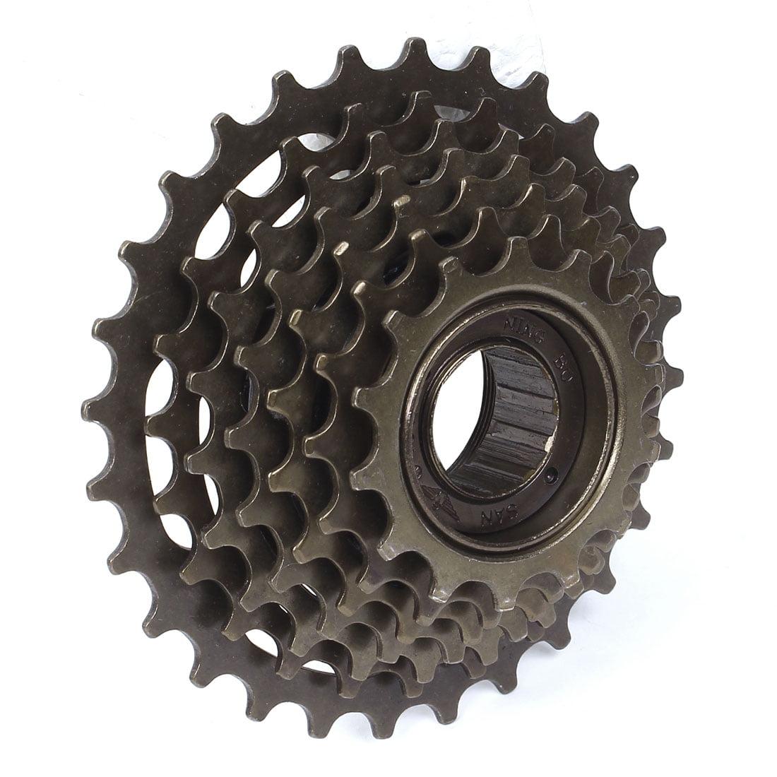 Bike Bicycle 7 Speed Type Sprocket Wheel Freewheel Replacement