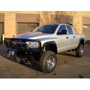Road Armor 44032B RDA44032B 03-05 DODGE 1500 (403/410 KIT) FRONT STEALTH WINCH BUMPER, TITAN II GUARD, SATIN
