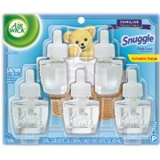 Air Wick Scented Oil Refill, Snuggle Fresh Linen, 5 refills