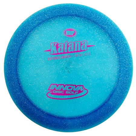 Innova Champion Metal Flake Katana 170-172g Distance Driver Golf Disc [Colors may vary] - 170-172g