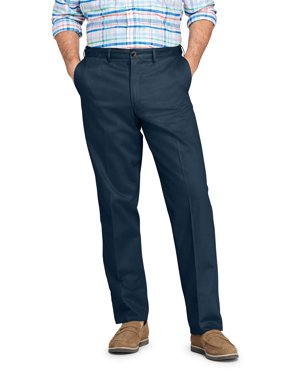 Lands' End Men's Plain Comfort Waist No-Iron Chino Pant