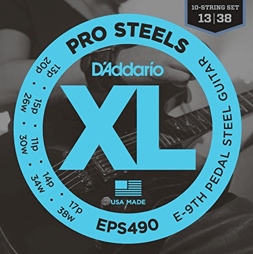 Pedal Steel Guitar Prost E9th by D'Addario