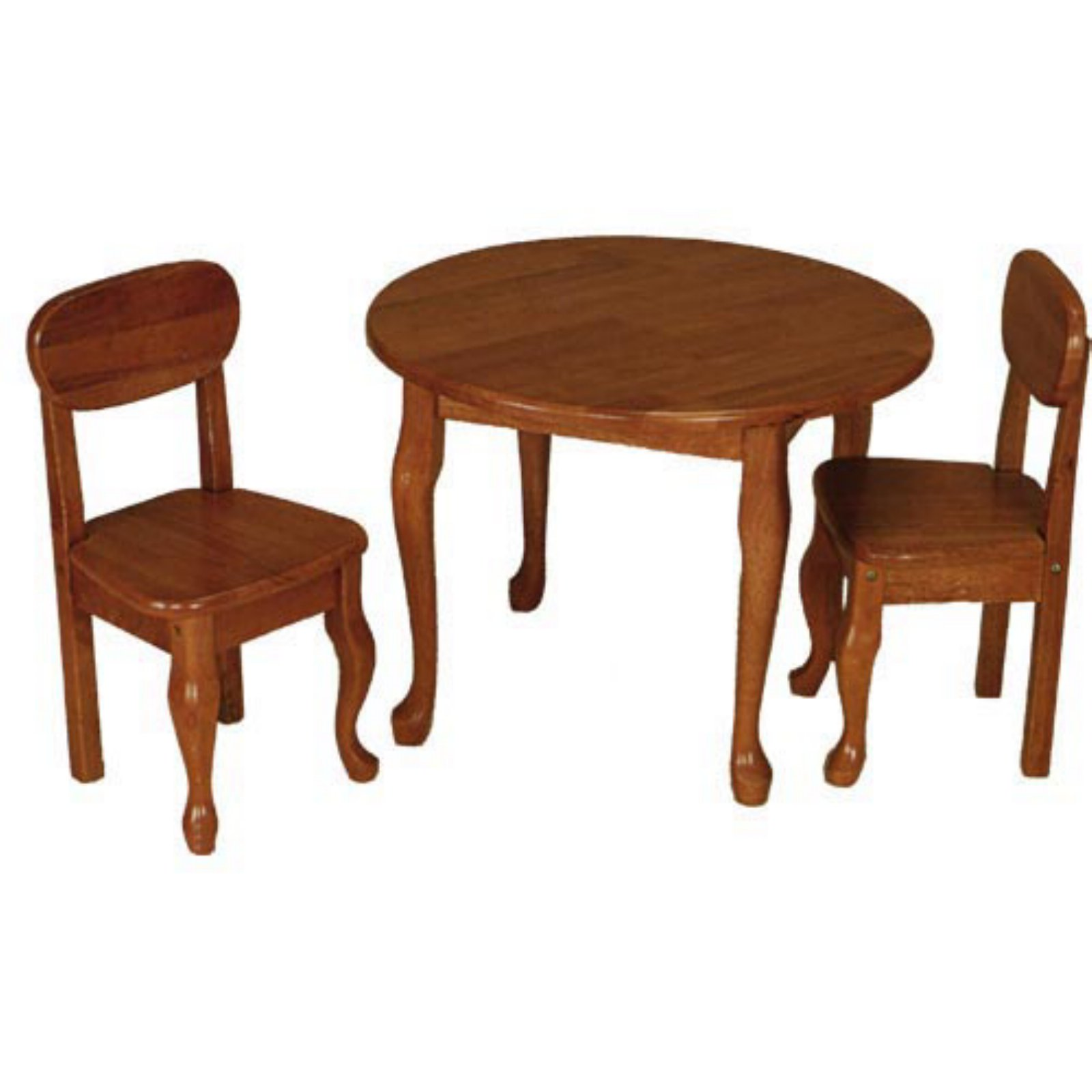 Wicker bathroom accessory sets - Gift Mark Queen Anne Round Table And Chair Set Shop At