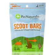 Scoot Bars for Dogs (Made with Real Pumpkin!) - 10 Bars (7.05 oz / 200 Grams) by