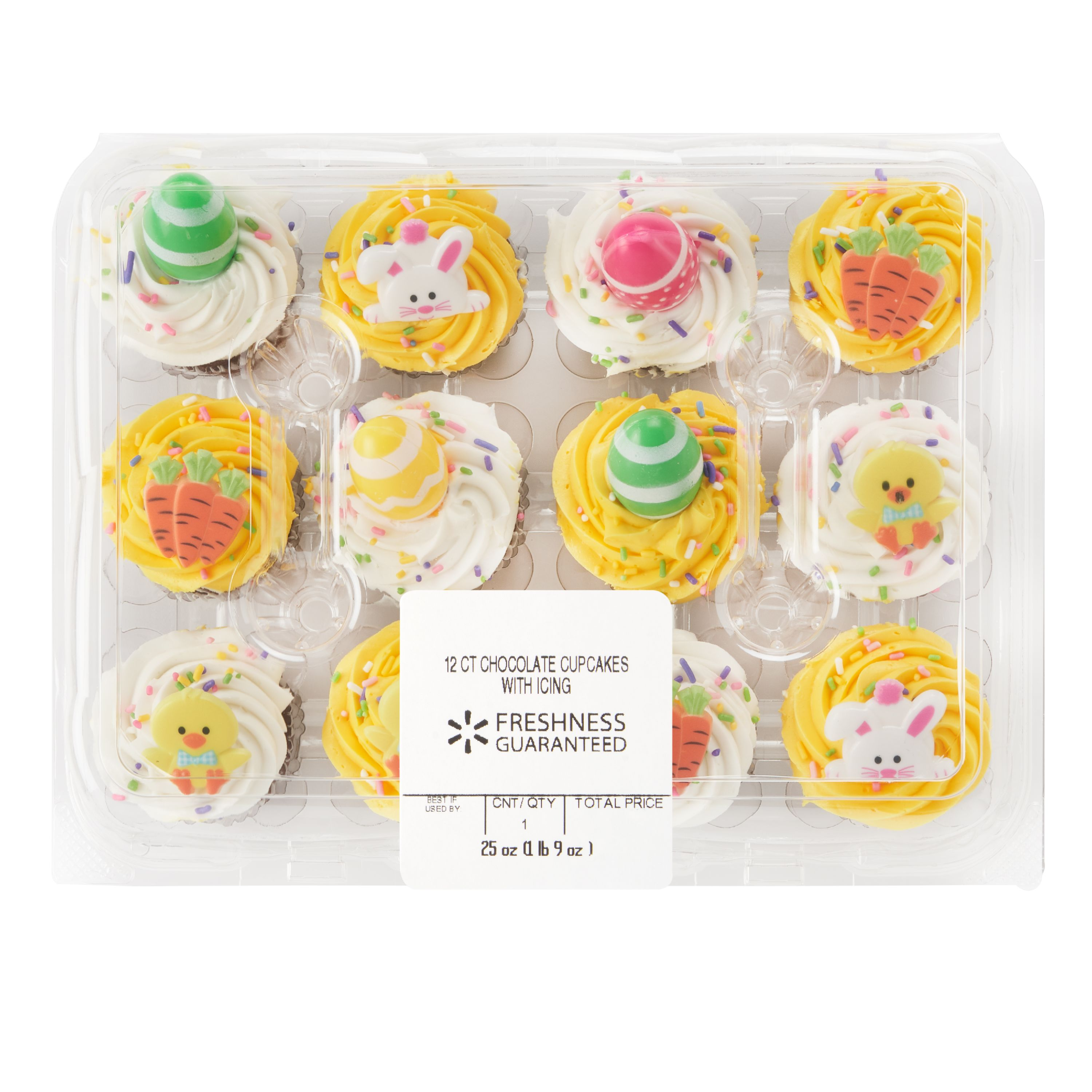 The Bakery At Walmart Chocolate Cupcakes 12 Ct