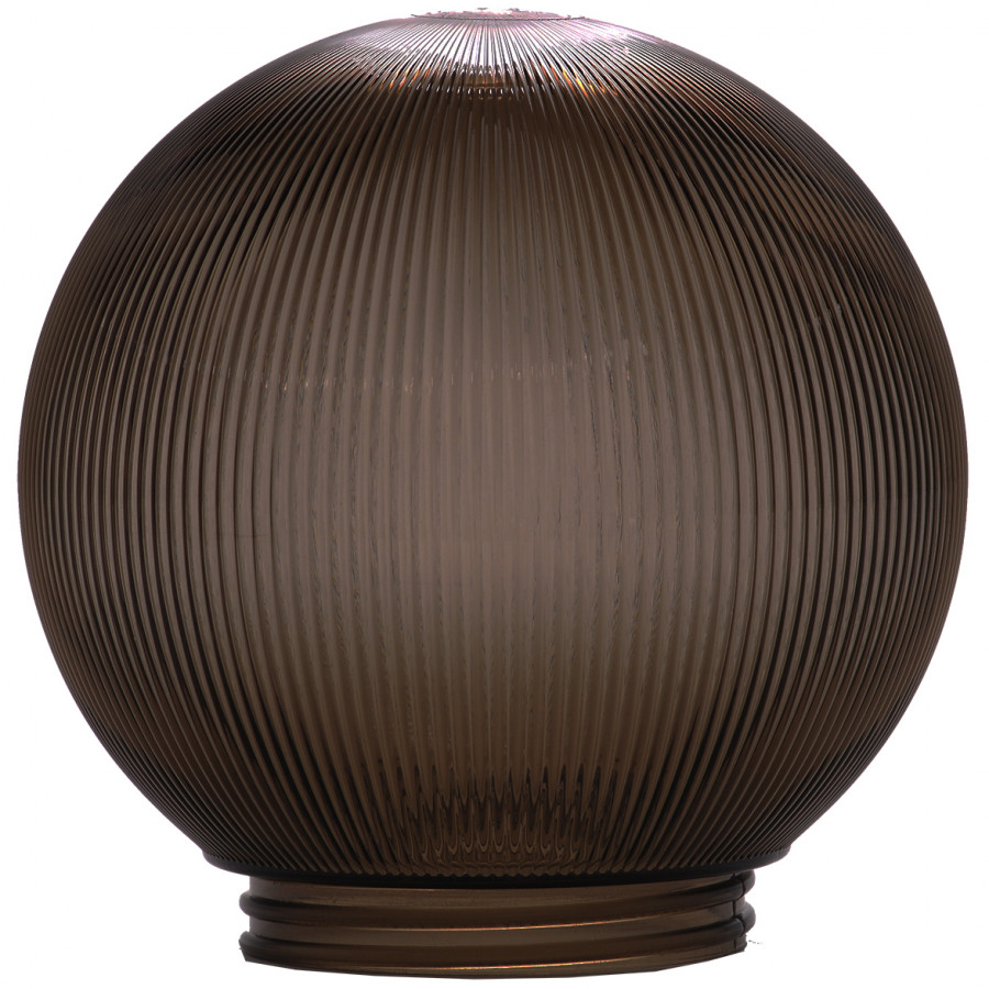 Globe Style Light Covers For Outdoor Lighting Patio Garden Courtyards  (Bronze)