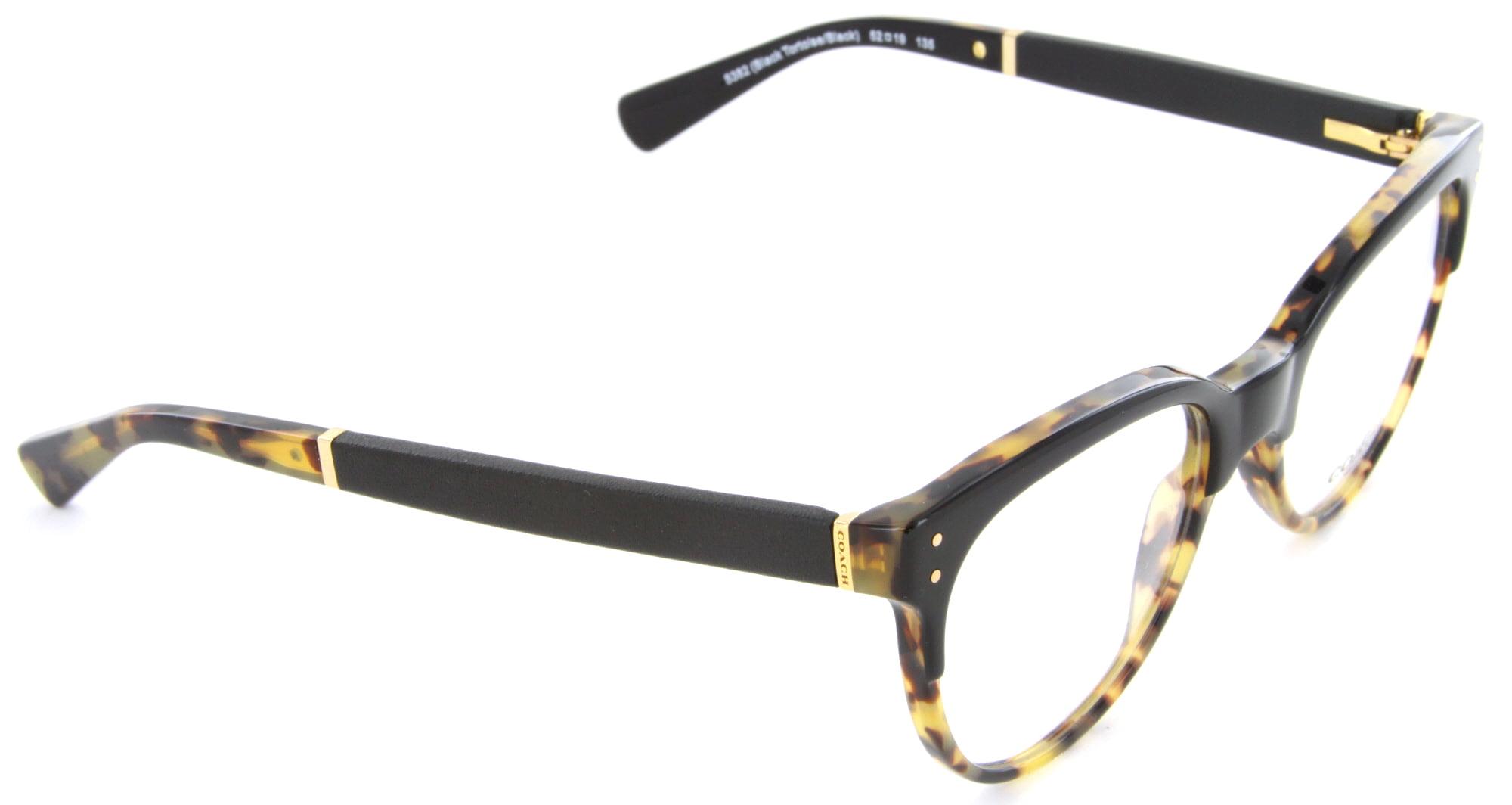 73342a2265d8 COACH Eyeglasses HC6084Q 5382 Black Tortoise Black 52MM - Walmart.com