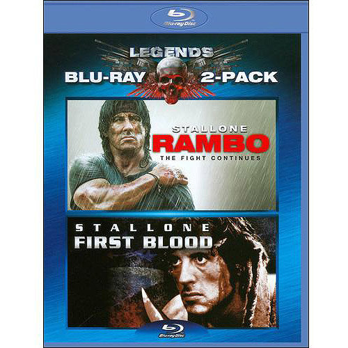 Rambo: Fist Blood / Rambo: The Fight Continues (Blu-ray) (With INSTAWATCH) (Widescreen)