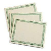 Gartner Studios 74930 Green Border Certificates
