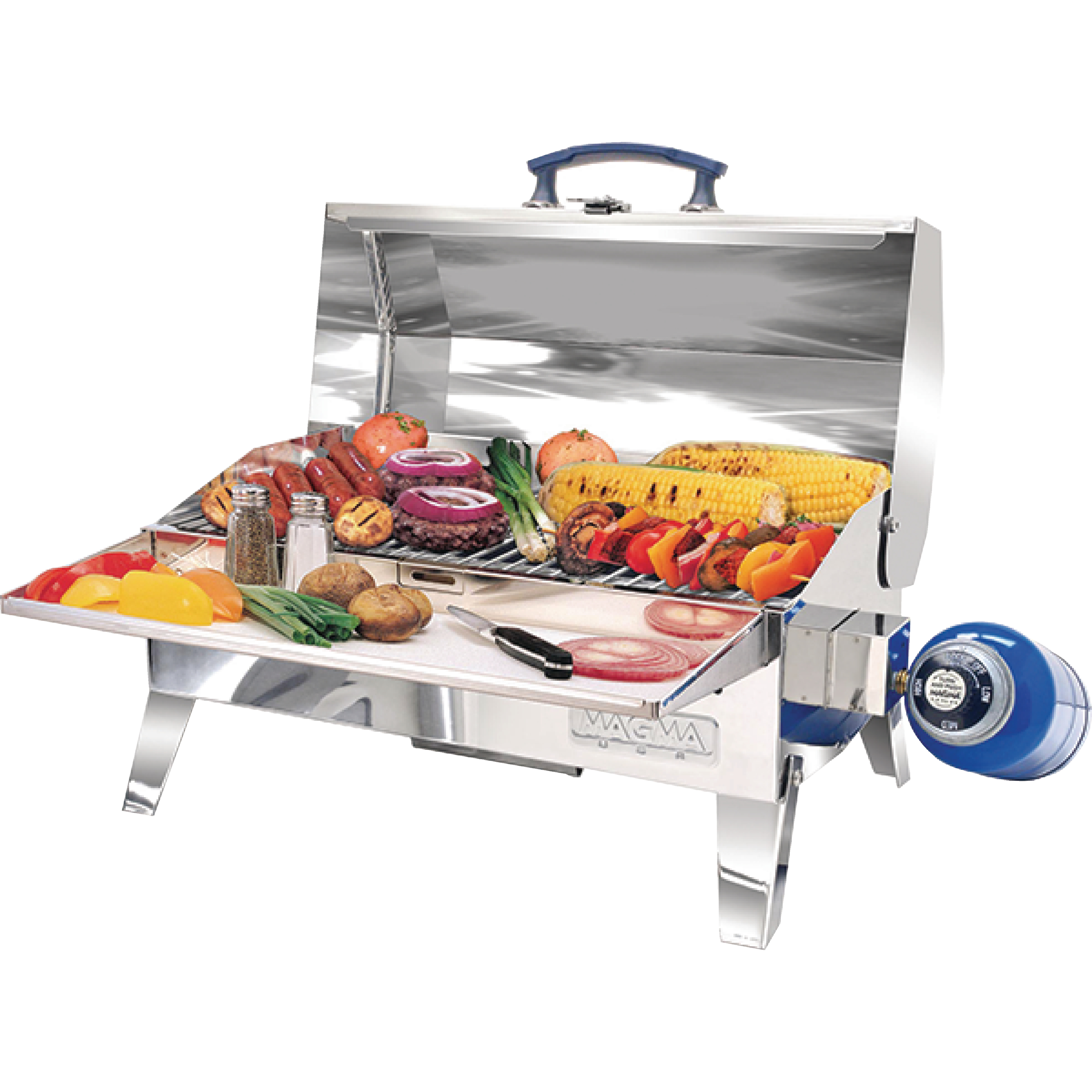 """Magma A10703 Cabo Adventurer Marine Series 9"""" x 12"""" Gas Grill"""
