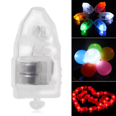 iMeshbean 50 Pack Colorful LED Lamp Lights Balloons Paper Lantern Balloon Wedding Party Decor - Balloon With Led Light