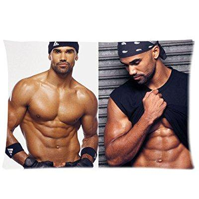 Shemar Moore Custom Rectangle Pillow Cases Pillowcase Covers Standard Size 20x30 One Side