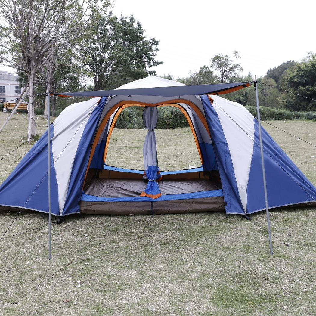 6-8 Person Outdoor Automatic Instant Camping Hiking Tent ...